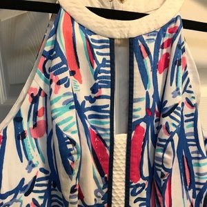 Lilly Pulitzer Dresses - Lilly Pulitzer Sailboat Printed Dress